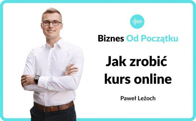Jak zrobić kurs online 2020 - narzędzia, programy, sprzęt - podcast