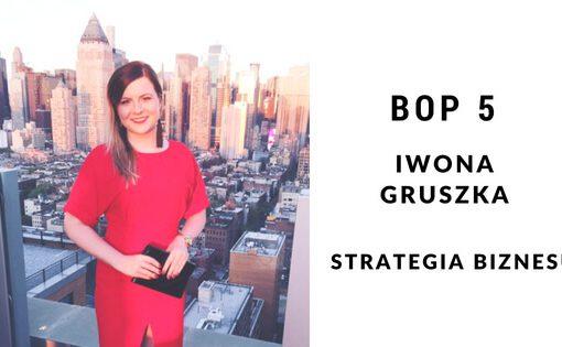 Iwona Gruszka- Strategia biznesu