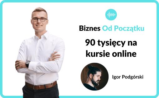 Igor Podgórski pokazuje kulisy sprzedaży kursu online z Final Cut Pro X